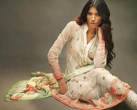 Saniya Maskatiya Luxury Pret Eid 2014