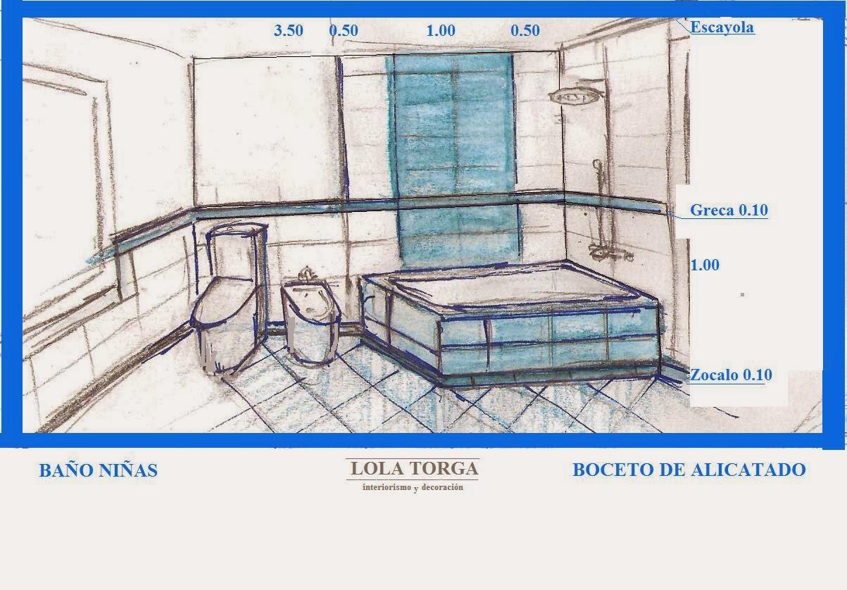baño juvenil diseño