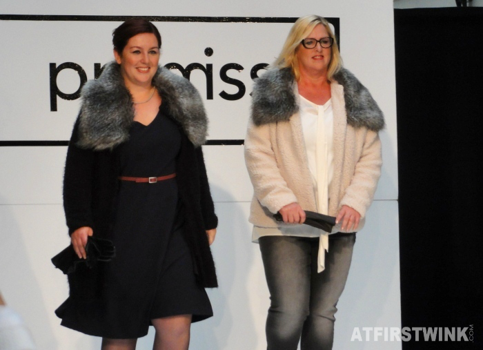 Promiss Fall/Winter 2014 fashion show - fur collars