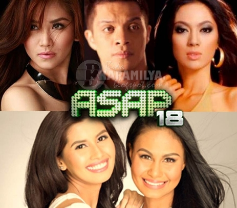 Sarah G, Bamboo and Bb. Pilipinas beauties Venus Raj, Shamcey Supsup and Ariella Arida on ASAP 18