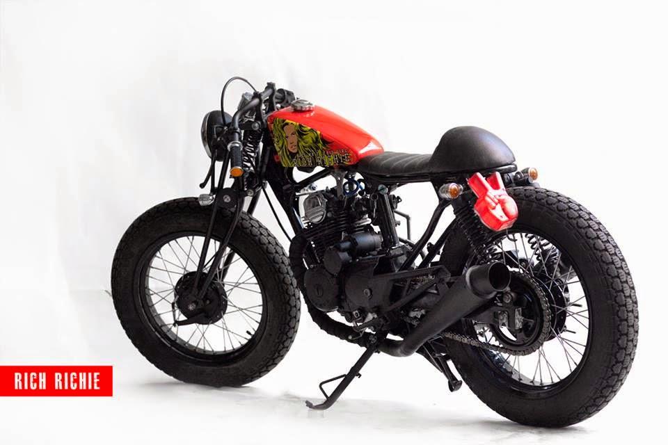 terbaru motor modifikasi klasik