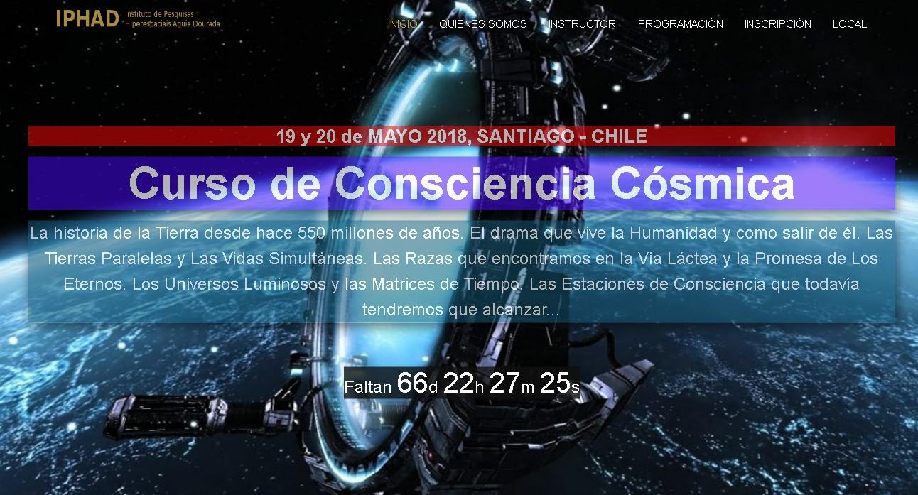 CONSCIÊNCIA CÓSMICA EM CHILE
