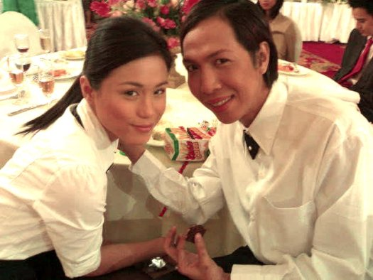 Toni Gonzaga and Vice Ganda in This Guy's Inlove with you Mare (with Luis Manzano)