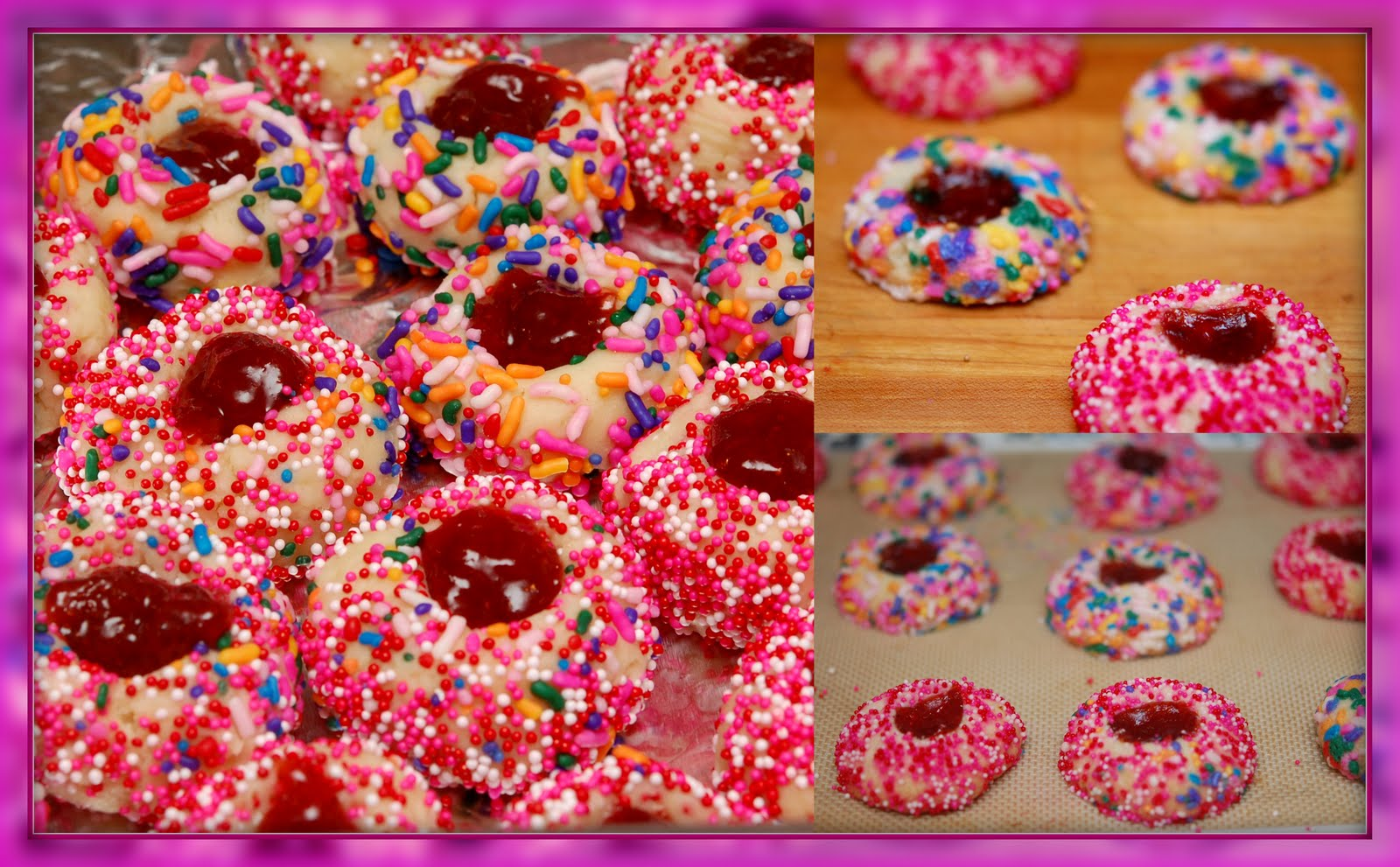 THUMBPRINT COOKIES - Hugs and Cookies XOXO