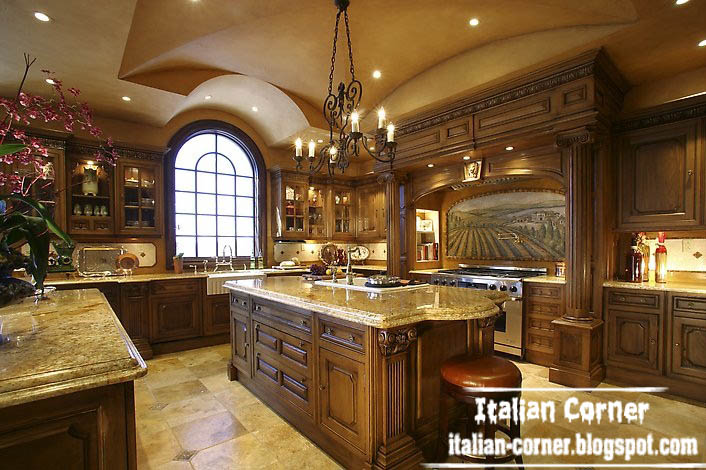 italian kitchen furniture. King Luxury Italian Kitchen Design With Wooden Cabinets Furniture And Ceiling