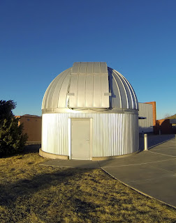 The McDonald Observatory in west Texas.