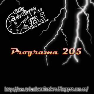 Grito de Guerra Nº 205 (30/07/2012)