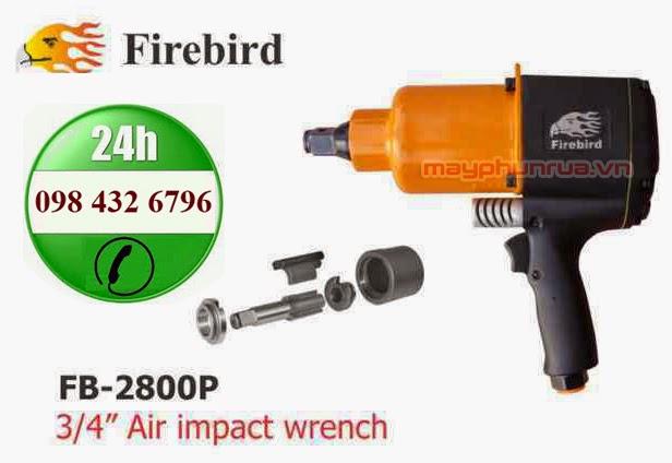 """Súng xiết bu lông firebird 3/4"""" FB-2800P"""
