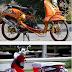 Gambar foto modifikasi motor yamaha mio fino sporty keren terbaru 2014