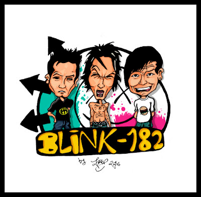 cartoon blink 182