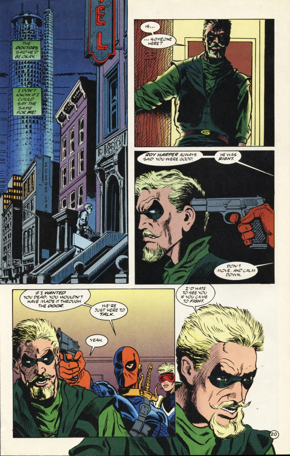 Deathstroke (1991) Issue #39 #44 - English 21