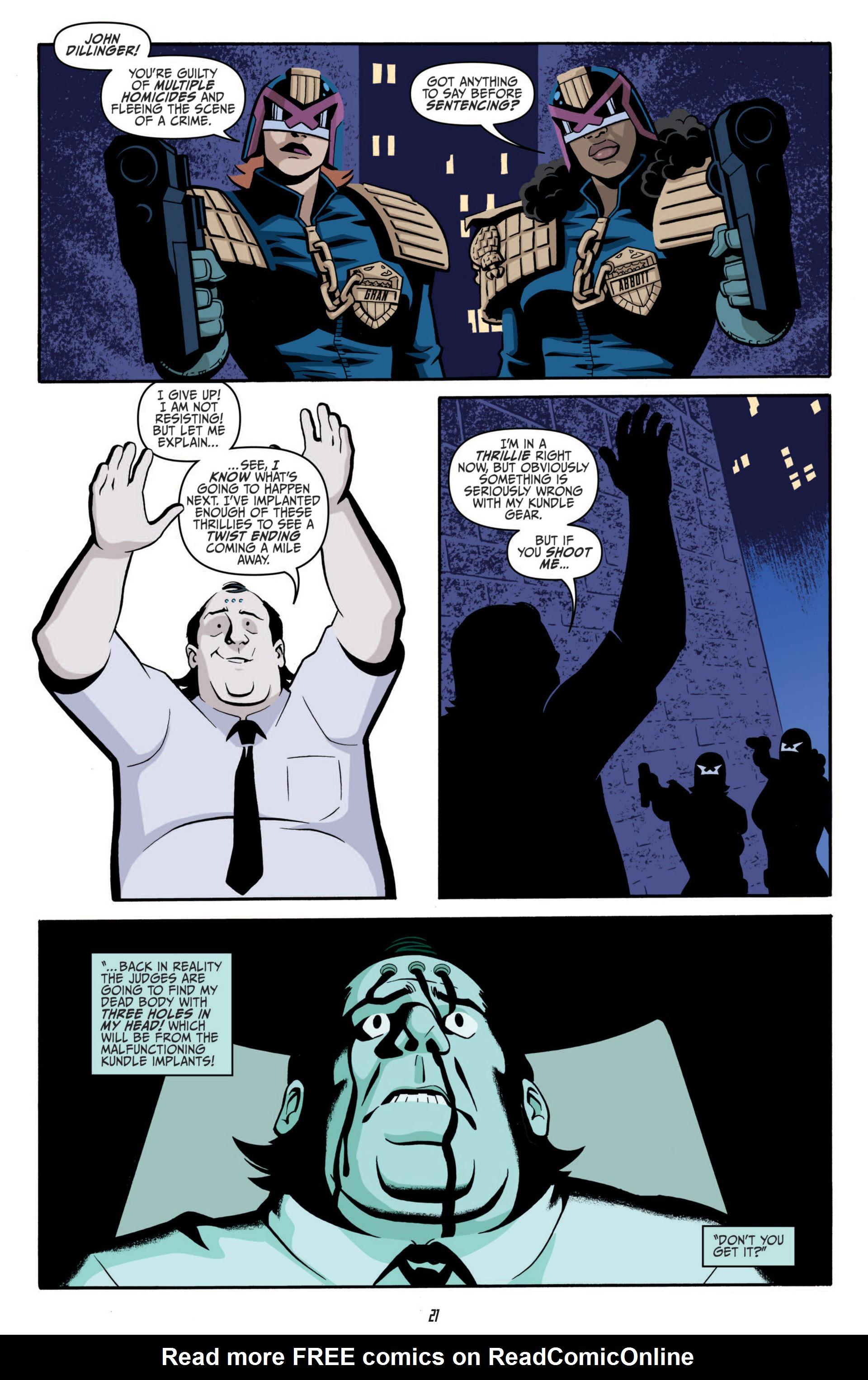 Read online Judge Dredd (2012) comic -  Issue #5 - 23