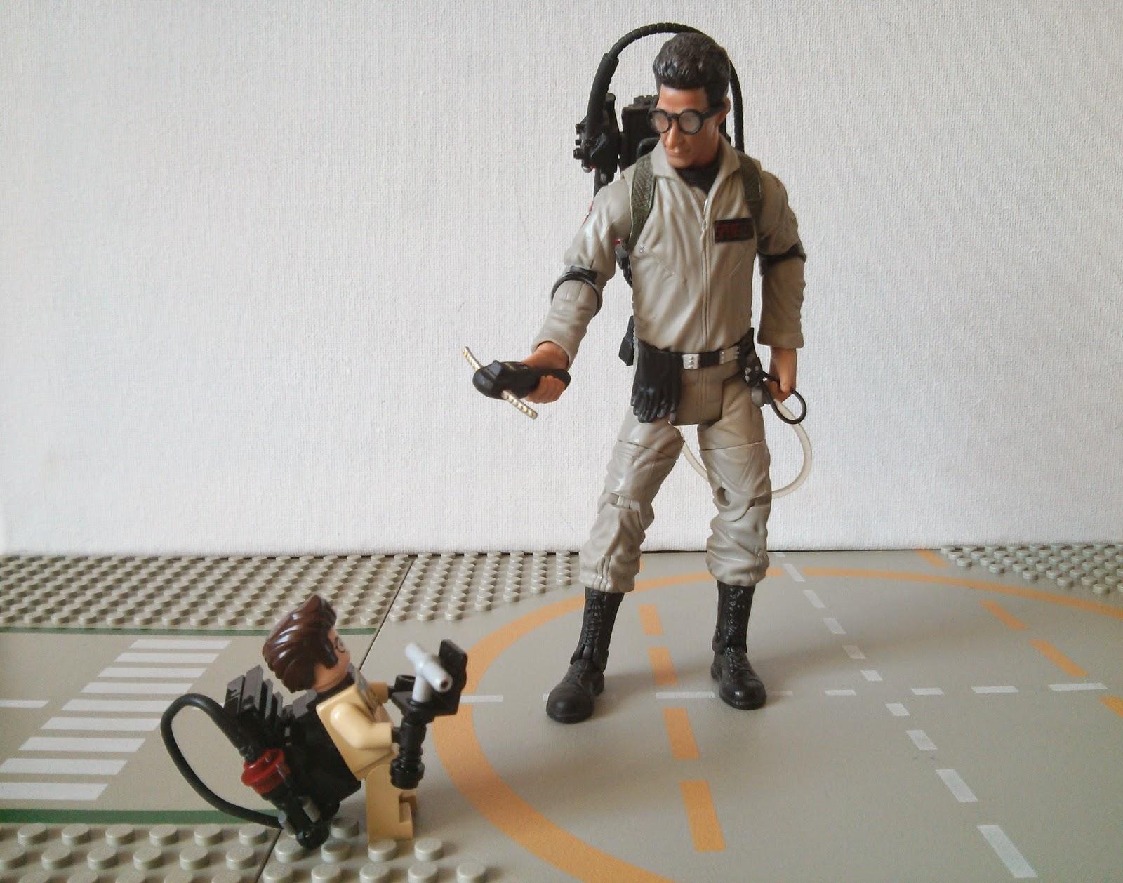 Lego Egon vs Classics Egon