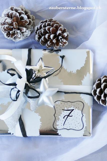 Ikea Geschenkpapier, Adventskalender DIY, Geschenke schön verpackt