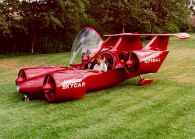 artikel-populer.blogspot.com - Inilah 10 Konsep Mobil Terbang yang Terkenal