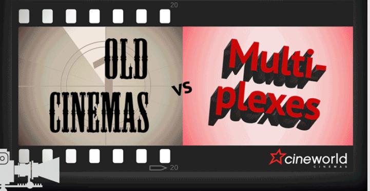 Infographic on cinemas changes
