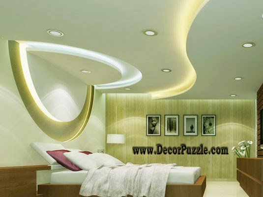 plaster of paris ceiling designs for bedroom pop design with lights - Plaster Of Paris Wall Designs