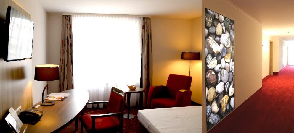 City Partner Hotel Alarun, Zimmer, Neubau, Flur