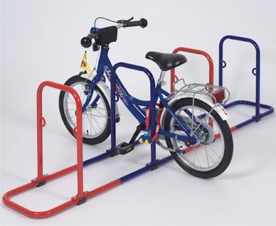 Fahrradständer GALAXY KID  als Kinderfahrradständer