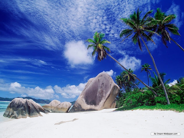 White sand HD nature wallpaper