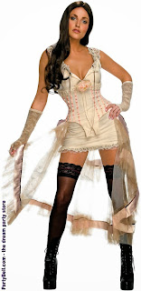 Jonah Hex - Lilah (White Look) Halloween Adult Costume