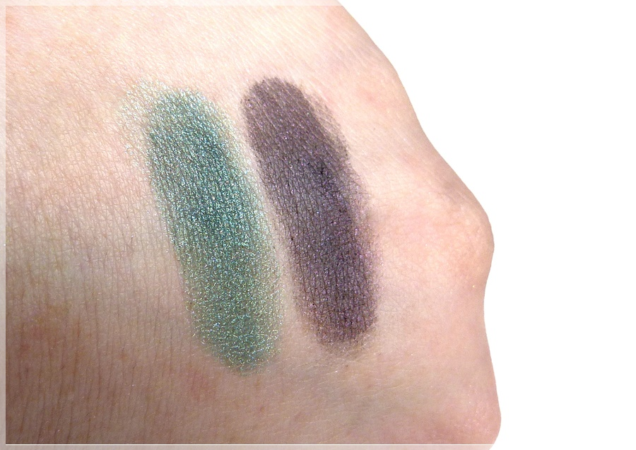 Swatches fyrinnae Enchating Otters und Devilish Debutante