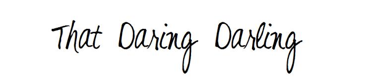 That Daring Darling