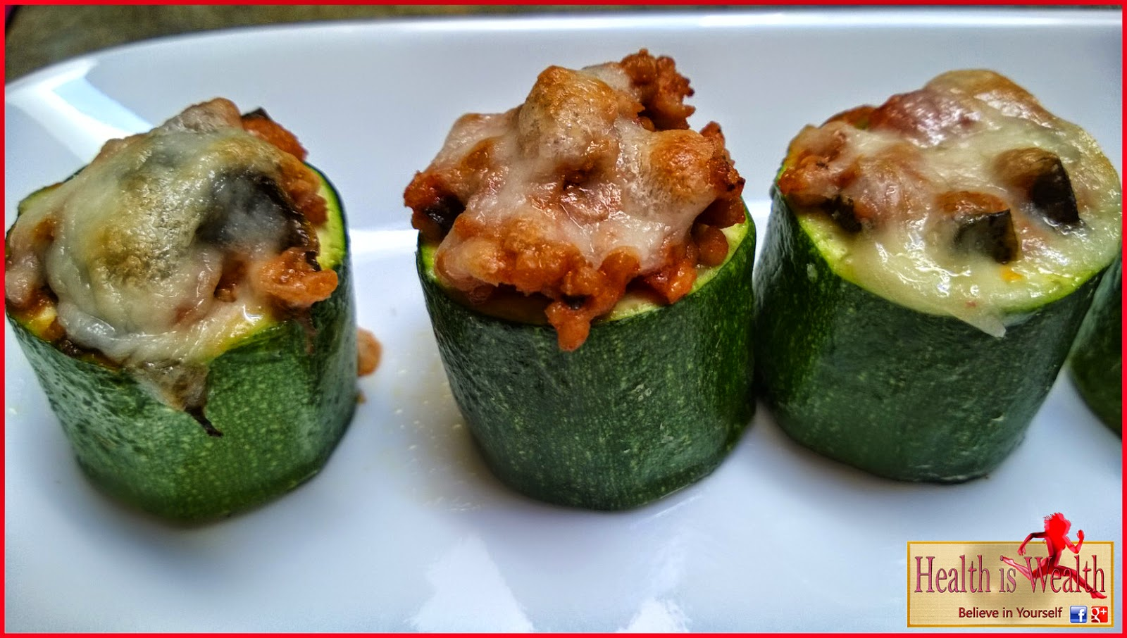 Strong and Beyond: Stuffed Zucchini Cups