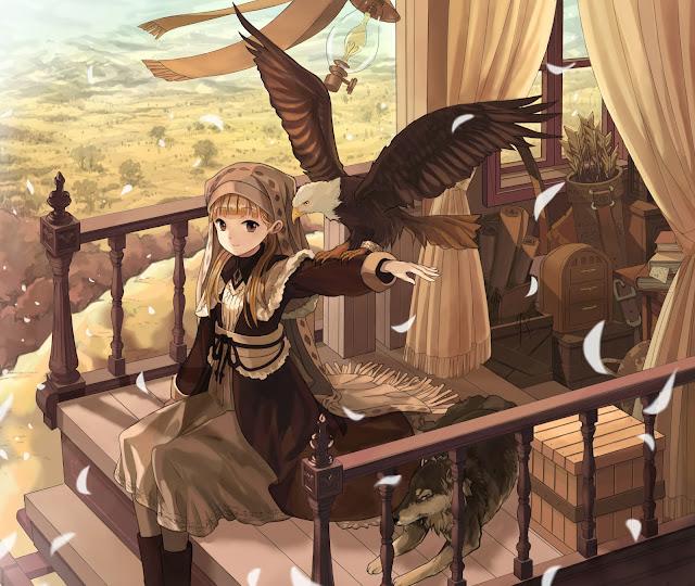 anime girl,anime scenery,teresita blanco