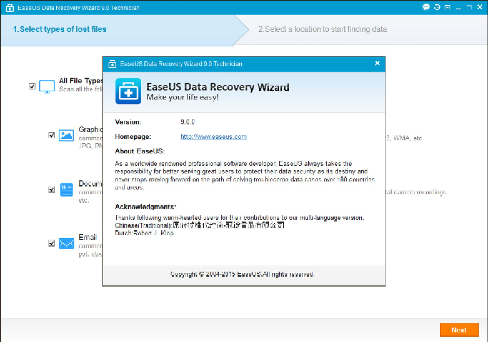 easeus data recovery crack patch