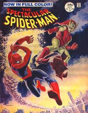 The Spectacular Spider-Man Magazine #2 comic