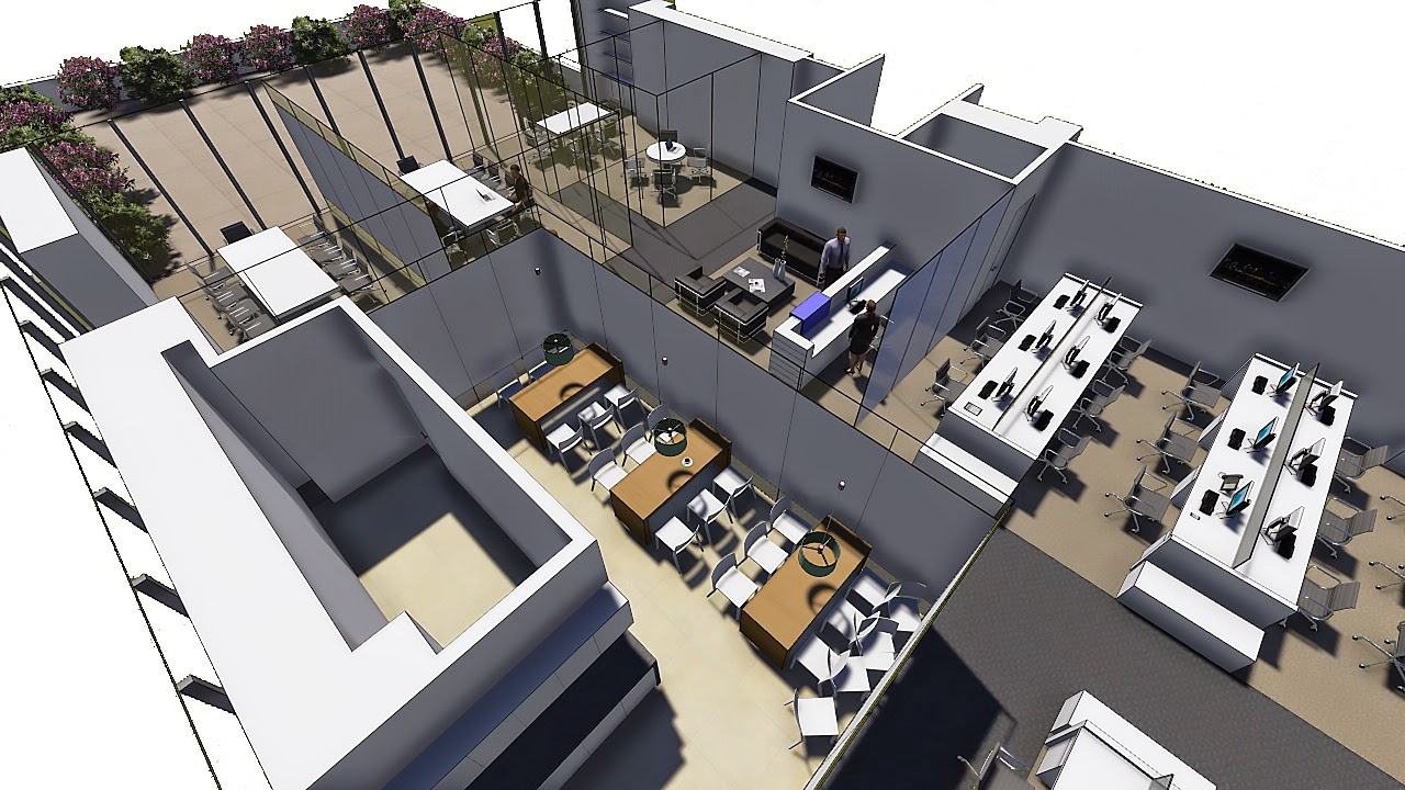 Dise o propuesta oficinas genomma lab bogot for Diseno oficinas modernas bogota
