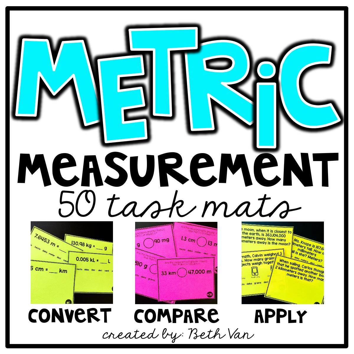 Metric Measurement Activities