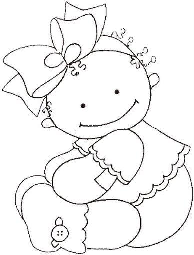 Dibujos para todo: Dibujos de bebes para colorear
