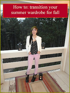 How to: transition your summer wardrobe for fall, fall wardrobe, summer wardrobe, 2013 fashion, fall fashion