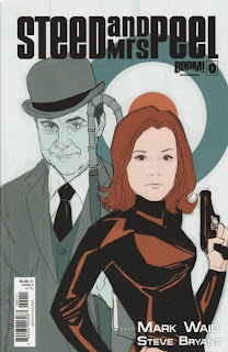 Front cover A of Steed and Mrs Peel #0 from Boom