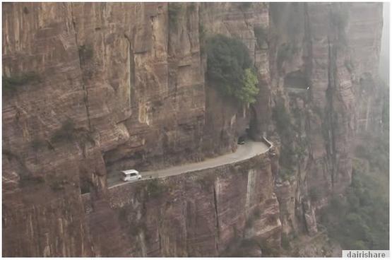 Inilah Antara 7 Jalan Paling Bahaya Di Dunia Dan Paling Unik