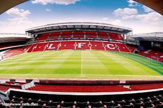 Estudiar inglés barato en Liverpool, Estadio Anfield