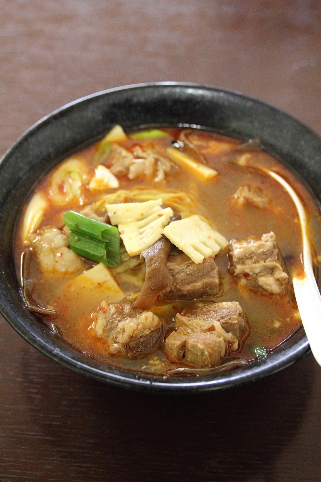 中国四川料理 好運来 牛肉麺