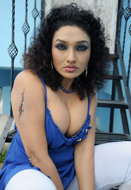 Telugu Actress Ramya Sri Hot Photo Shoot Cleavage Gallery. Ramya Sri ...
