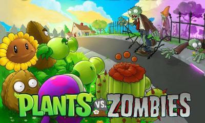 mewarnai gambar anak   anak games plants melawan zombies