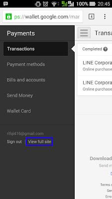 Cara Mengubah Alamat Google Wallet Menjadi US (Indonesia)