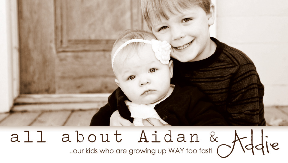 all about aidan &amp; addie