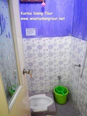 kamar mandi homestay kresna 2 dieng