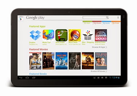 Play Store en tu tablet