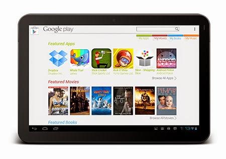 Play Store en tu tablet