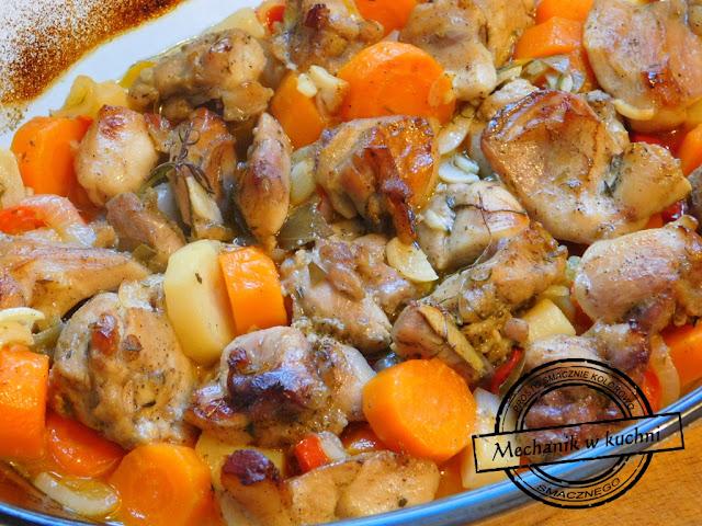 Królicze skoki w warzywach przepis na królika królicze skoki okrasa przepis kuchnia lidla promocja na królika