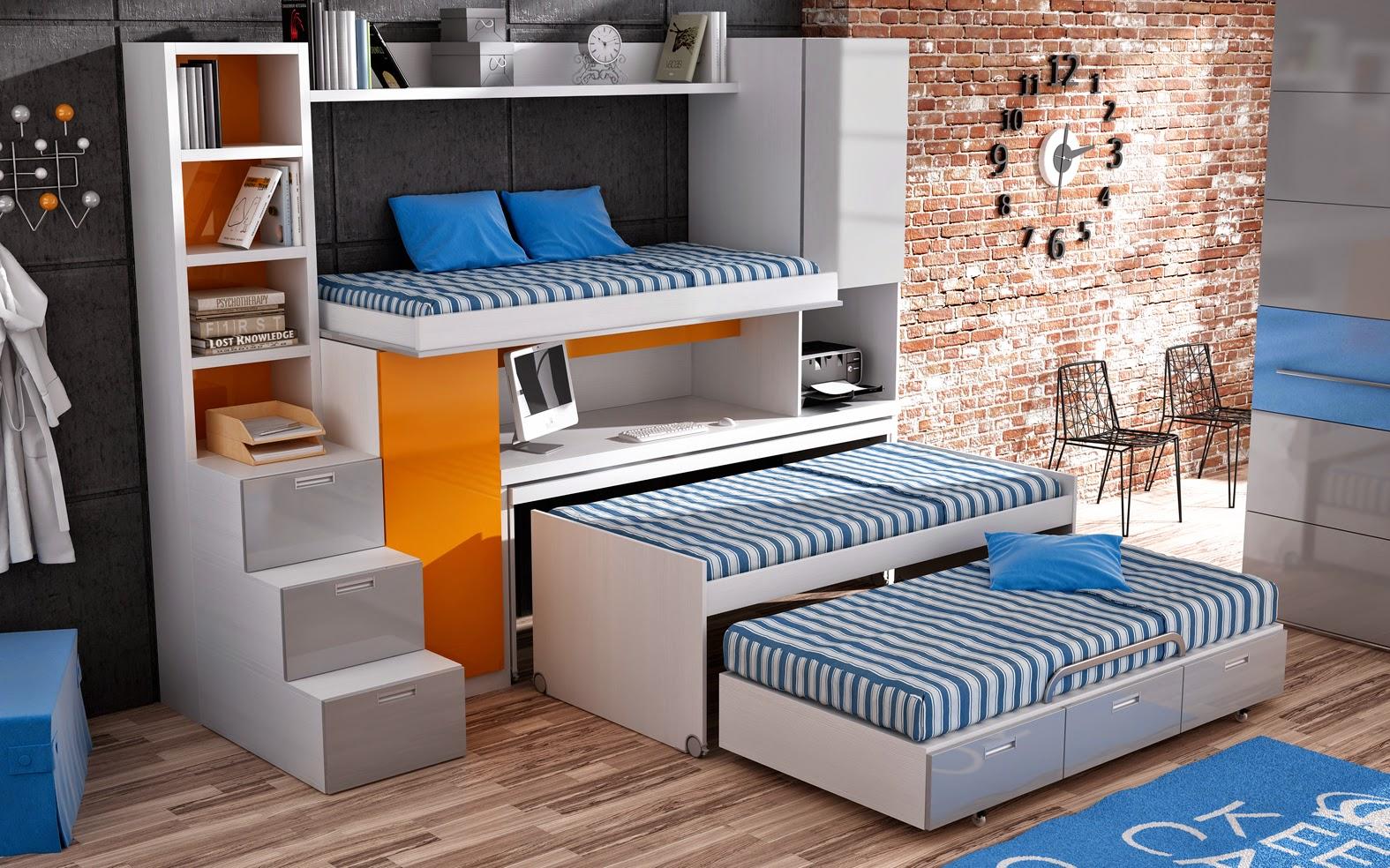 Muebles juveniles dormitorios infantiles y habitaciones for Muebles modulares juveniles