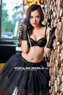 Adinda for Popular World February 2013