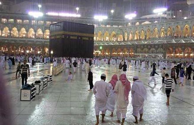 Haji 1434H - Hujan Rahmat Landa Kota Makkah